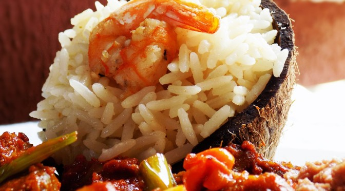 #MATSECOOKS | SHRIMP COCONUT RICE
