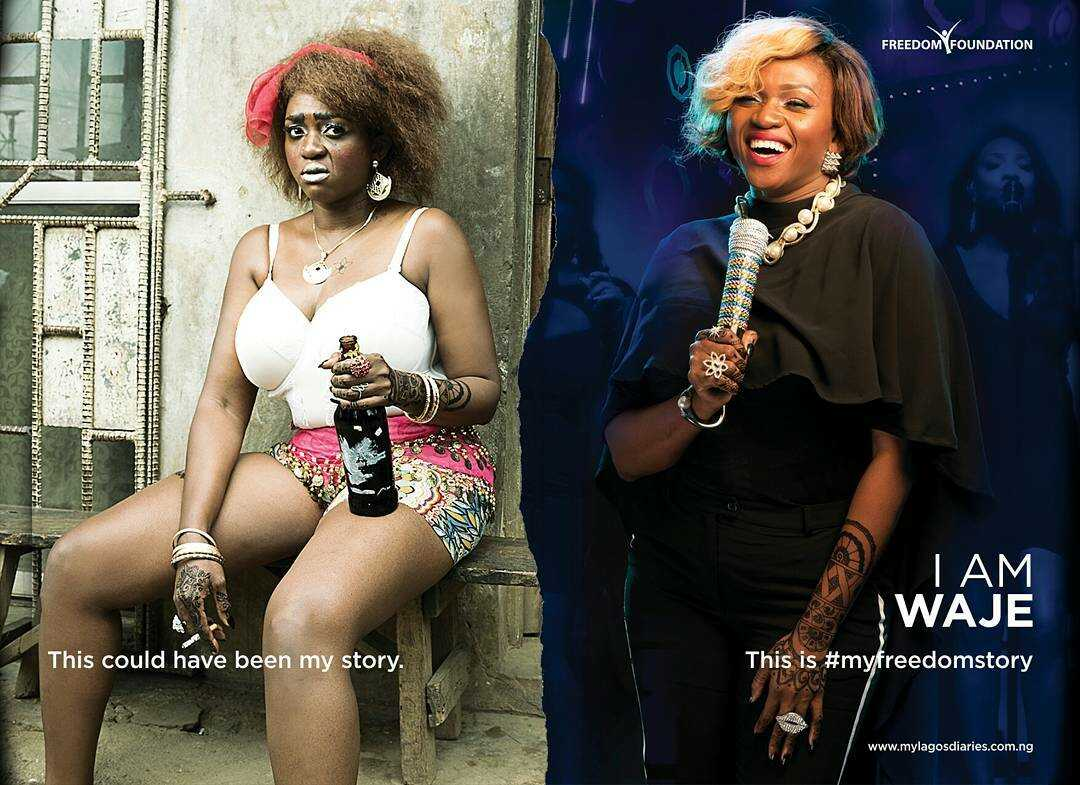 """""""I COULD HAVE BEEN THAT COMMERCIAL WORKER WITH NO HOPE""""- SINGER, WAJE"""