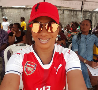 IBINABO FIBERESIMA'S DAUGHTER WINS GOLD MEDAL AT SCHOOL'S RELAY RACE COMPETITION