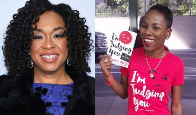 """SHONDA RHIMES TO DEVELOP LUVVIE AJAYI'S BOOK """"I'M JUDGNG YOU"""" AS CABLE SERIES"""