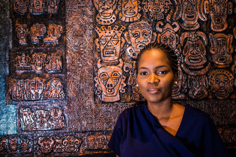 MEET ADENRELE SONARIWO, THE LADY WHO  QUIT HER AUDITING JOB TO LAUNCH AN ART GALLERY