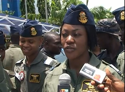 THE INSPIRING STORY OF BLESSING LIMAN, NIGERIA'S FIRST FEMALE MILITARY PILOT