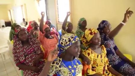 """I WANT TO BE A DOCTOR"" RESCUED CHIBOK SCHOOL GIRLS RESUME CLASSES, SHARE THEIR DREAMS AND ASPIRATIONS"