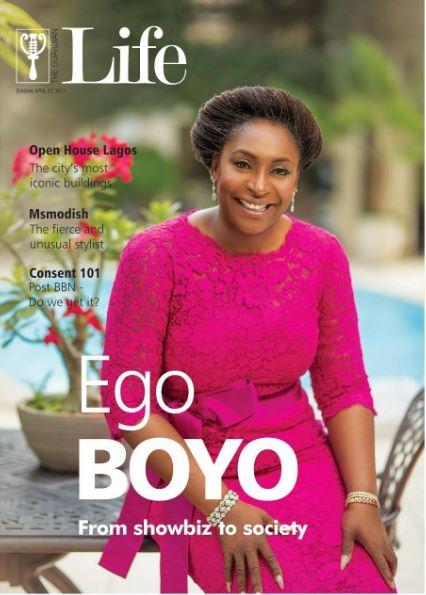 VETERAN ACTRESS EGO BOYO COVERS GUARDIAN LIFE MAGAZINE'S LATEST ISSUE