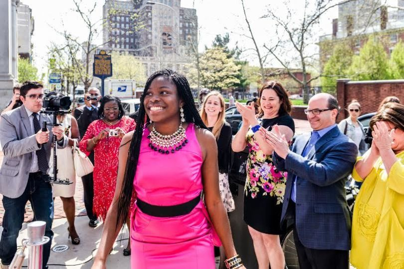 17 YR OLD IFEOMA WHITE-THORPE HAS BEEN ACCEPTED TO ALL 8 AMERICAN IVY LEAGUE SCHOOLS