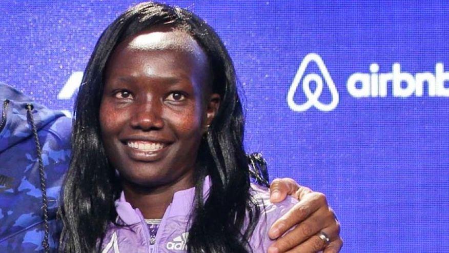 KENYA'S MARY KEITANY WINS WOMEN'S LONDON MARATHON