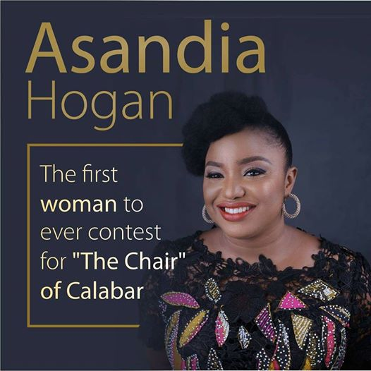 MEET ASANDIA BASSEY HOGAN, FIRST FEMALE CHAIRPERSON OF CALABAR MUNICIPALITY