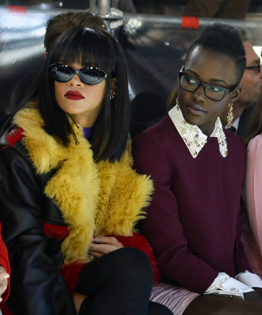 RIHANNA AND LUPITA NYONG'O TO CO-STAR IN NEW MOVIE FOLLOWING SOCIAL MEDIA CAMPAIGN