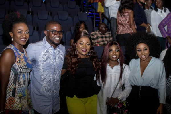 "KATE HENSHAW, RITA DOMINIC, FUNKE AKINDELE BELLO, TOKE MAKINWA, JJC SKILLZ & MORE AT THE PREMIERE OF ""INDUSTREET"""