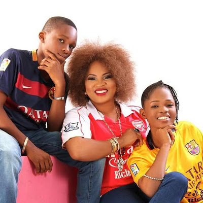THE FACT THAT I LOST MY HUSBAND DOES NOT MAKE ME A SINGLE PARENT' - ACTRESS REGINA CHUKWU