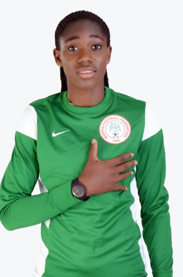 NIGERIAN PROFESSIONAL FOOTBALLER, ASISAT OSHOALA, SUPPORTS FALZ