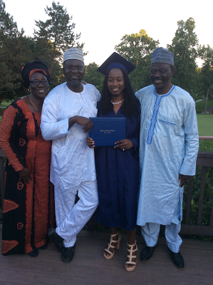 CHIBOK GIRLS GRADUATE FROM TOP RATED HIGH SCHOOL IN WASHINGTON USA