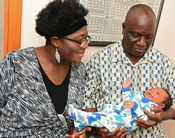 59 YEARS OLD WOMAN BLESSED WITH A BABY BOY AFTERhellip