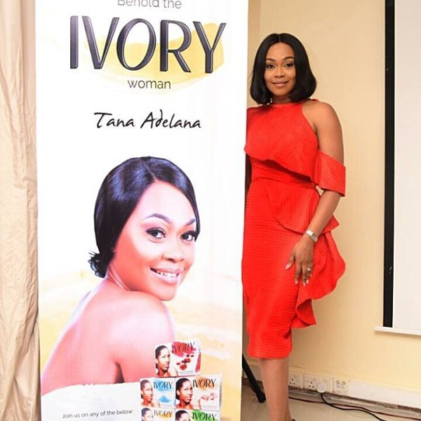 TANA ADELANA UNVEIL AS THE BRAND AMBASSADOR FOR IVORY BEAUTYhellip