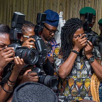 MEET THE FEMALE PHOTOGRAPHERS DOCUMENTING THE LIVES OF GOVERNORS AND THE VICE PRESIDENT OF NIGERIA
