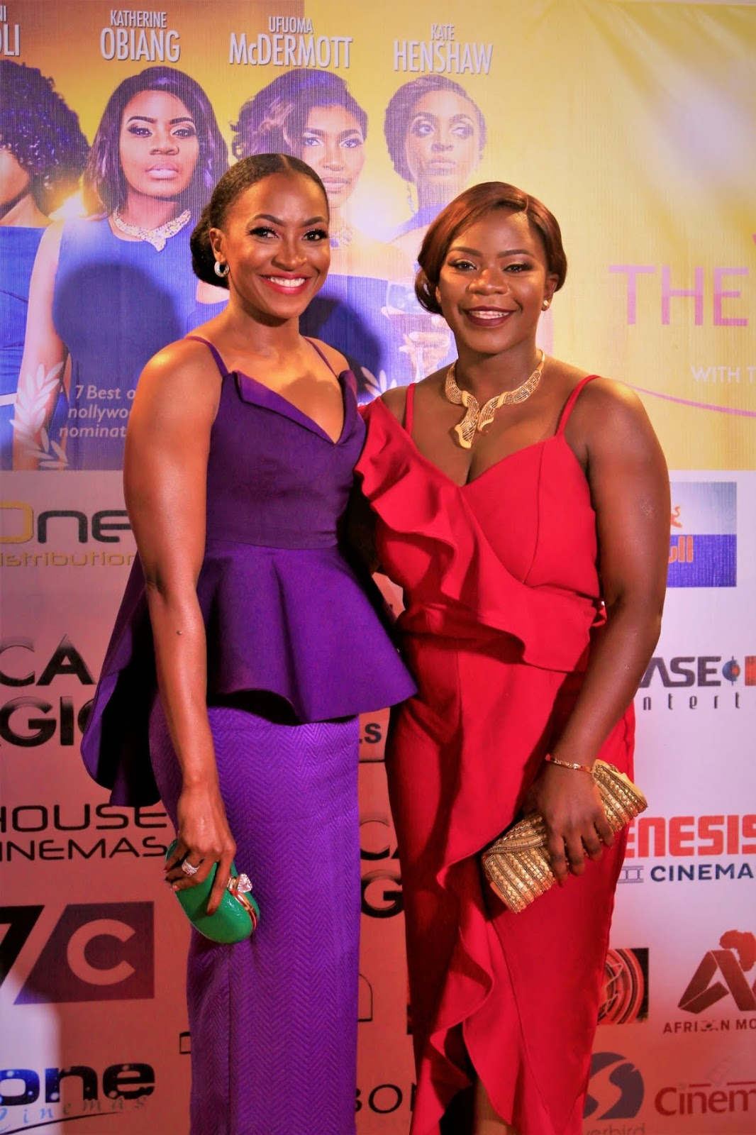 """RITA DOMINIC, KATE HENSHAW, OMONI, UFUOMA,  BLESSING EGBE DAZZLE ON RED CARPET FOR """"THE WOMEN"""""""