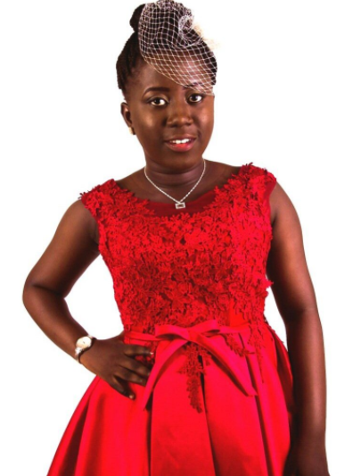 MEET  14 YEAR OLD NANA YAA, GHANAIAN GIRL WITH AUTISM WHO ASPIRES TO BE A SUPER MODEL
