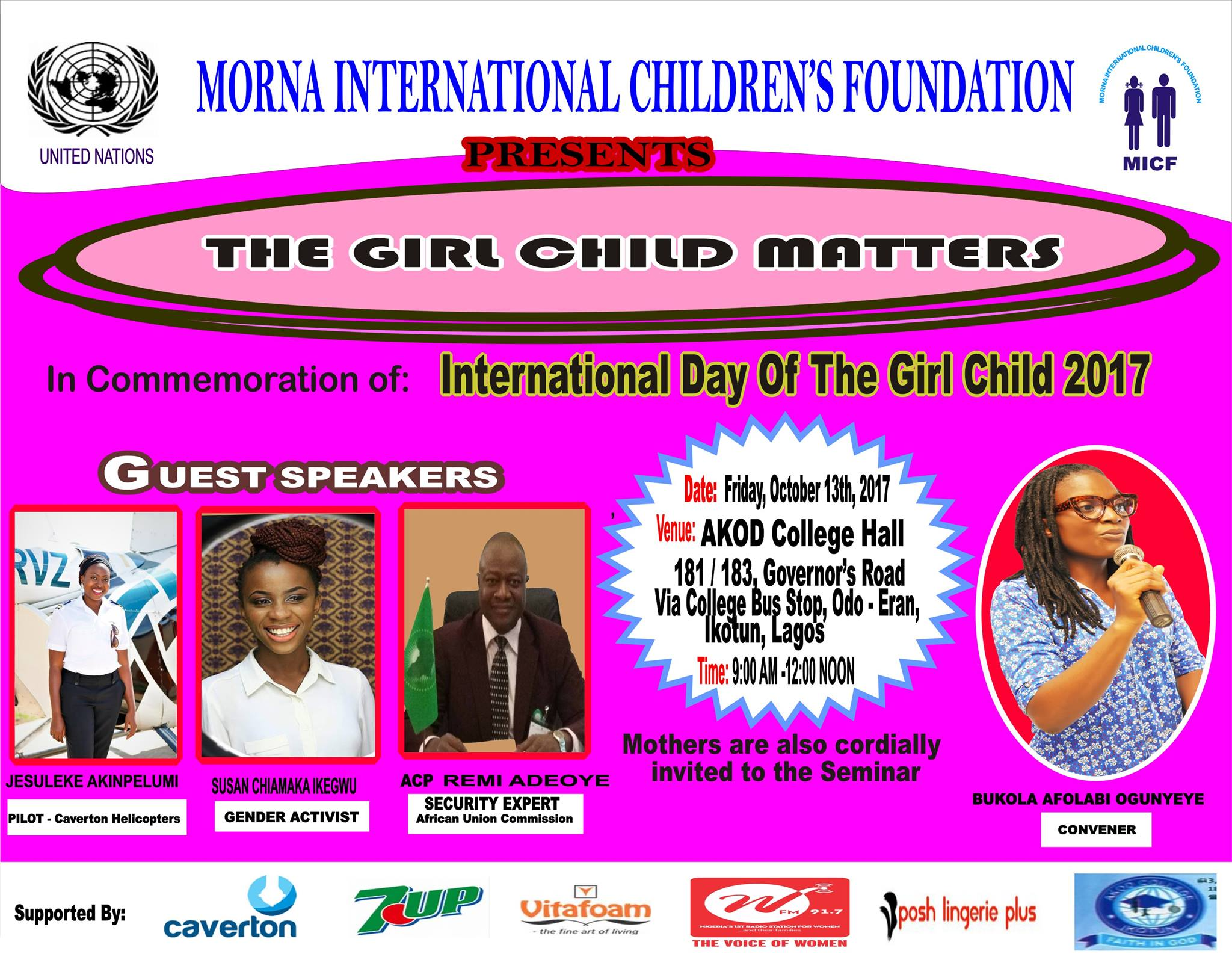 THE GIRL CHILD MATTERS