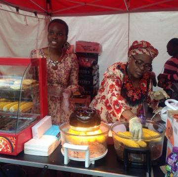 TOKUNBO KOIKI LAUNCHES NIGERIAN STREET FOOD STALL IN LONDON