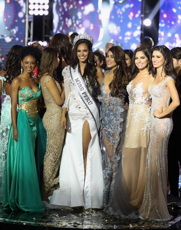 MISS PERU 2018 CONTESTANTS WERE ASKED TO GIVE STATS ON WOMEN'S ISSUES INSTEAD OF THEIR BUST AND WAIST SIZES