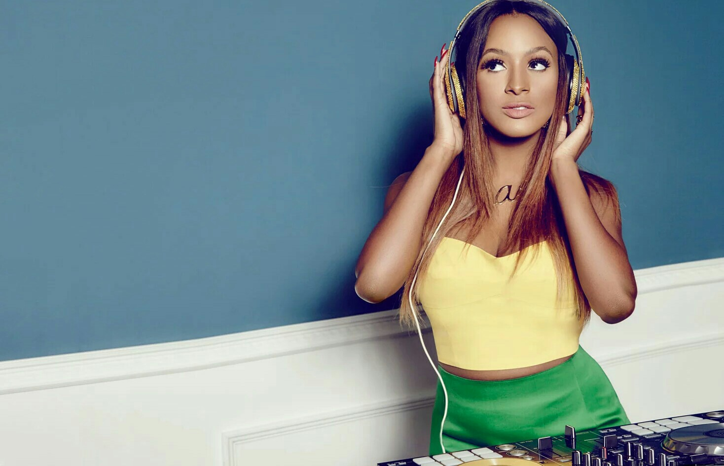 "''THERE IS SO MUCH DOMESTIC ABUSE GOING OUT THERE AND PEOPLE DON'T CONFRONT IT"" -DJ CUPPY"