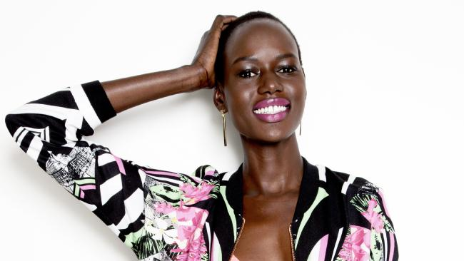 READ HOW AJAK DENG ROSE FROM BEING A REFUGEE TO BECOME A TOP MODEL