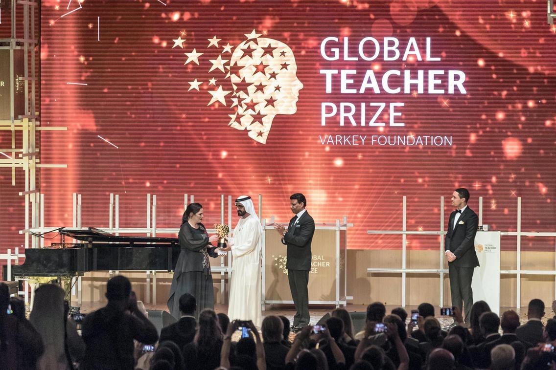 MEET ANDRIA ZAFIRAKOU, THE WORLD BEST TEACHER
