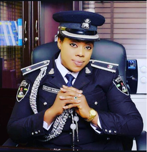 'CELEBRITY POLICE OFFICER', IFEDOLAPO BADMOS BECOMES CHIEF SUPERINTENDENT OF POLICE