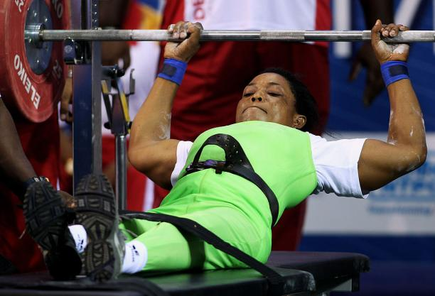 NIGERIAN POWERLIFTER, ESTHER OYEMA SETS WORLD RECORD AT THE COMMONWEALTH GAMES