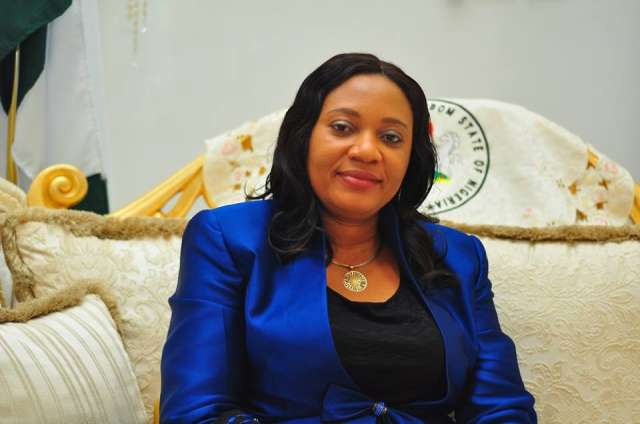 FIRST LADY OF AKWA IBOM STATE, MRS MARTHA EMMANUEL BUILDS 24 HOUSES FOR WIDOWS