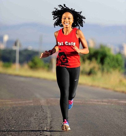 MEET THE SOUTH AFRICAN LADY CREATING AWARENESS FOR MENTAL ILLNESS THROUGH RUNNING