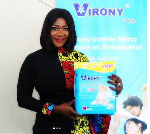 MERCY JOHNSON IS THE NEW BRAND AMBASSADOR FOR VIRONY DETERGENT